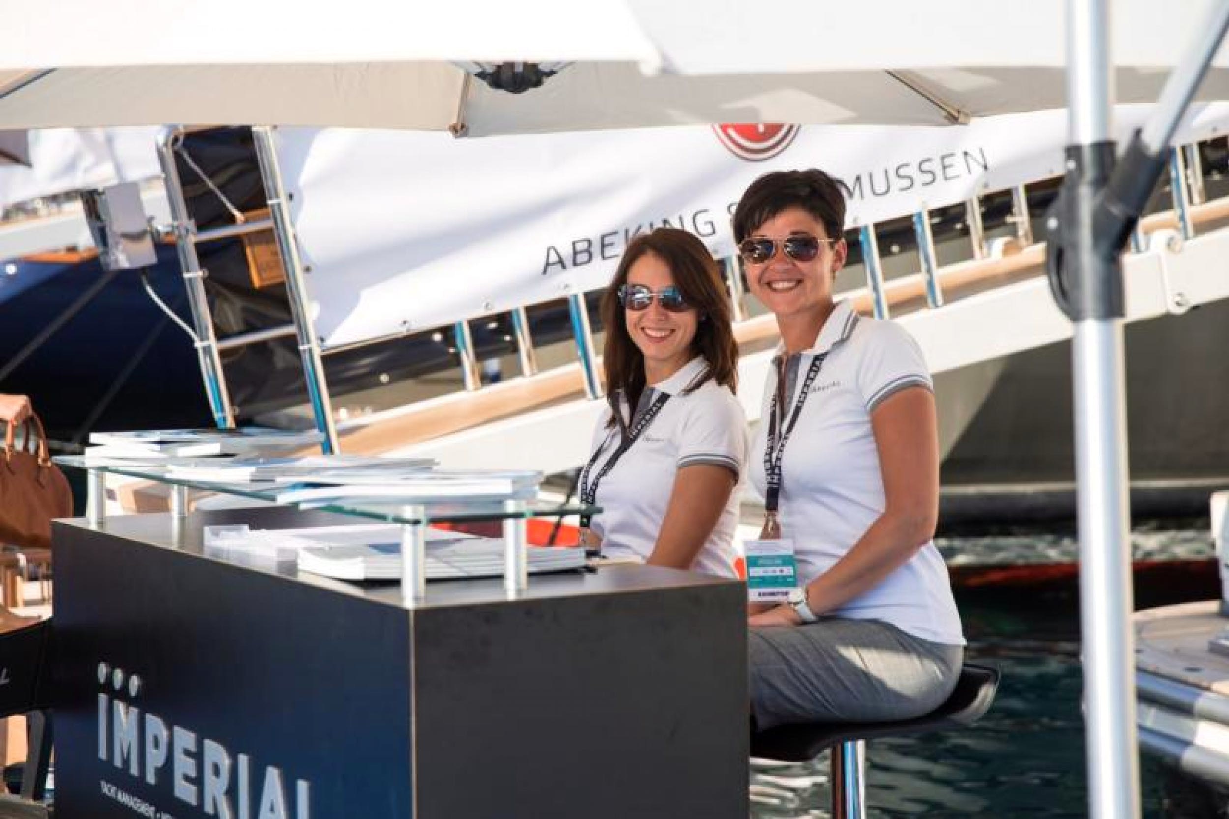 Receptionist/Office Administrator Assistant with Imperial Yachts