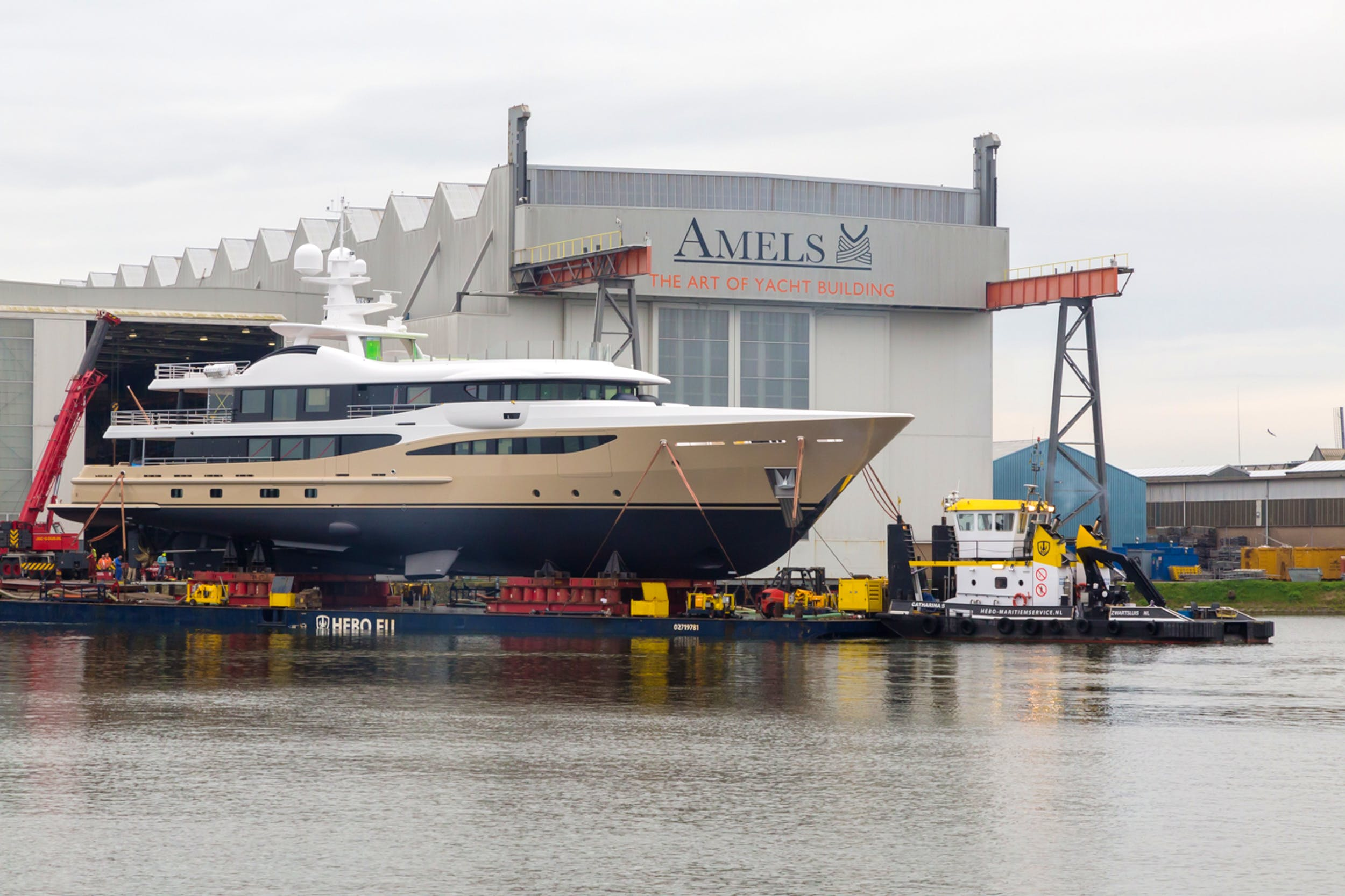 Imperial and Amels launch 55m LILI