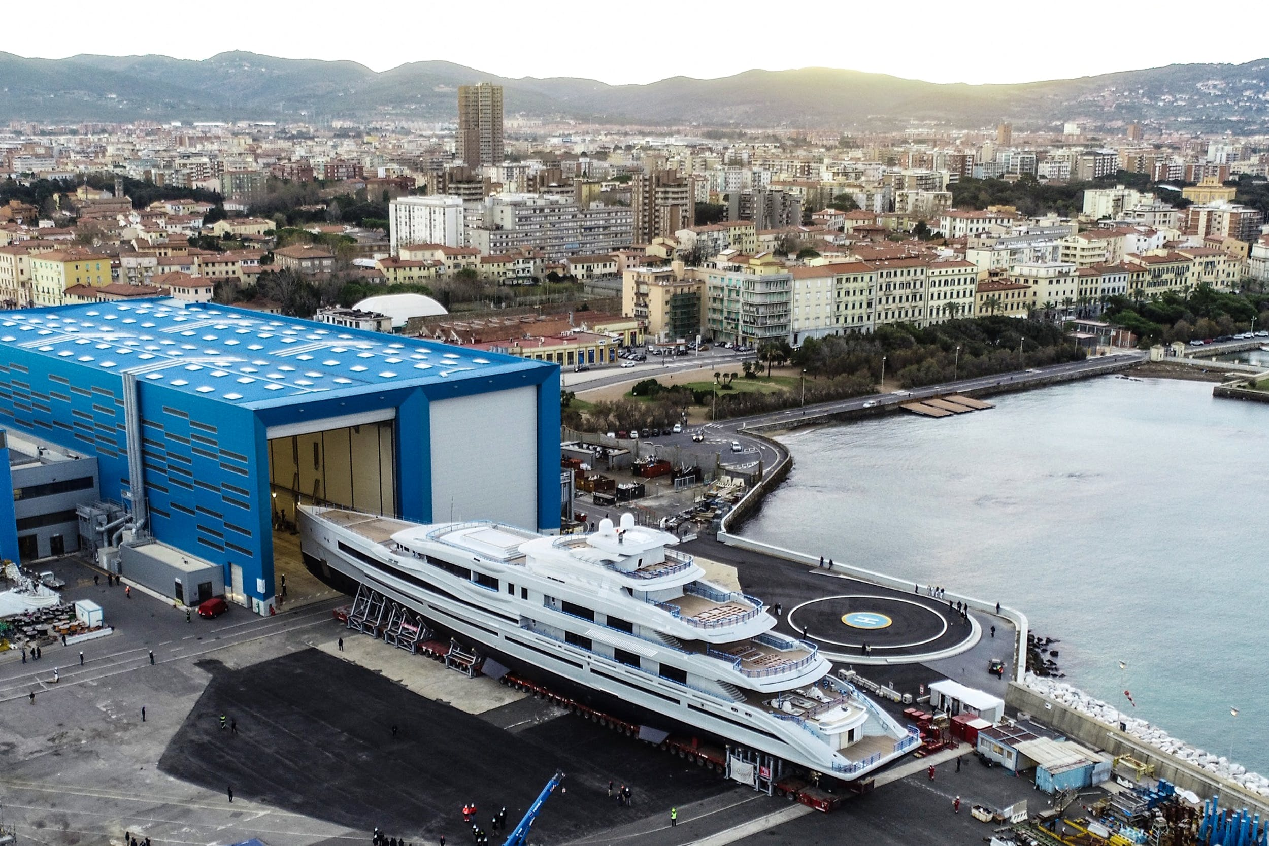 Imperial and Benetti launch 107m Project FB-277
