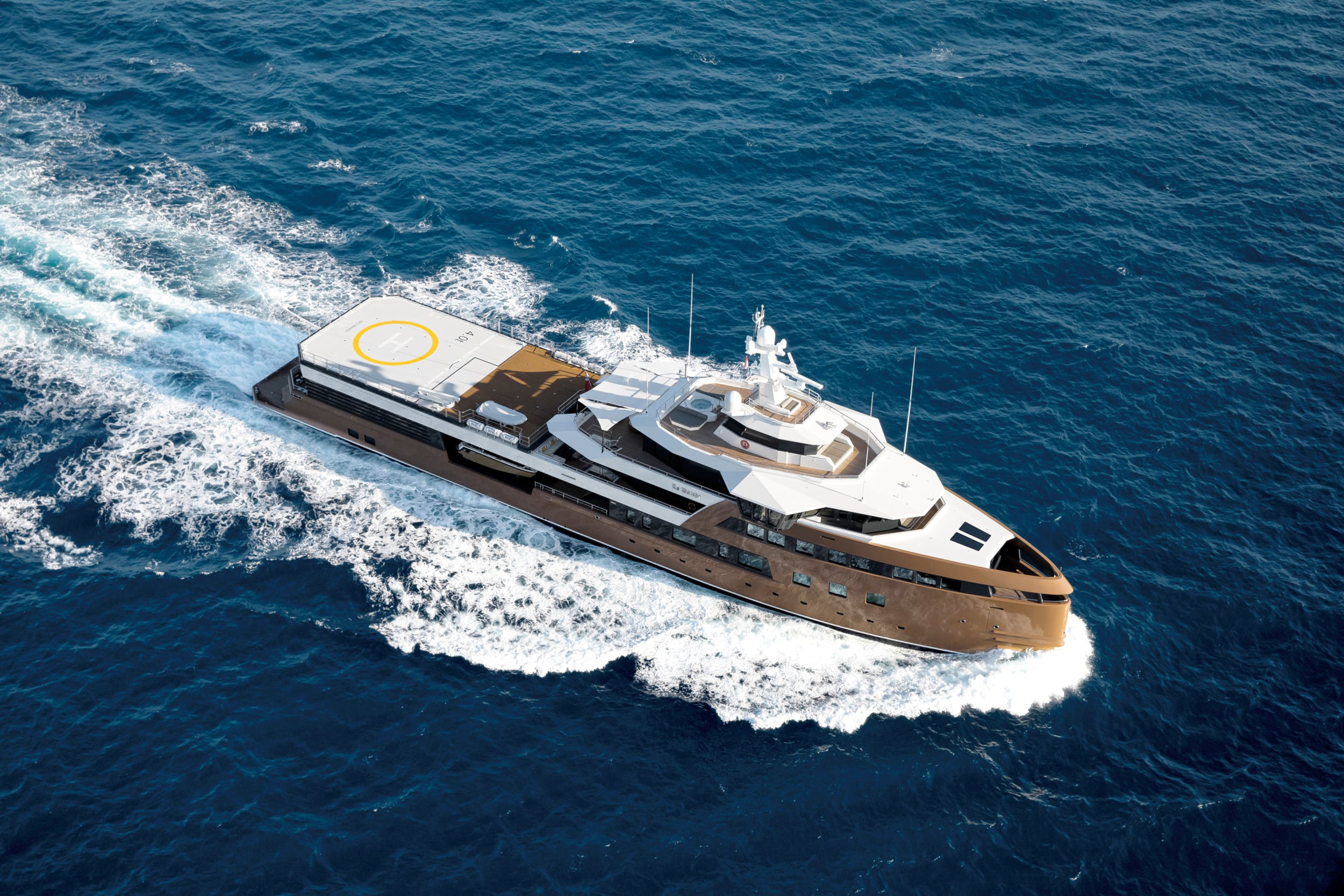 LA DATCHA -  NEW ADDITION TO IMPERIAL'S LUXURY CHARTER FLEET