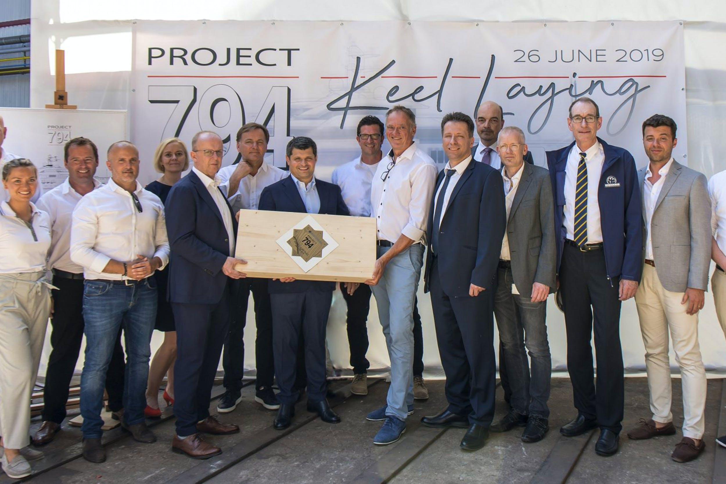 PROJECT 794 ON TRACK FOR DELIVERY IN 2021