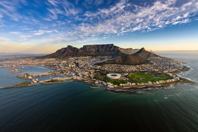 Superyacht charters South Africa