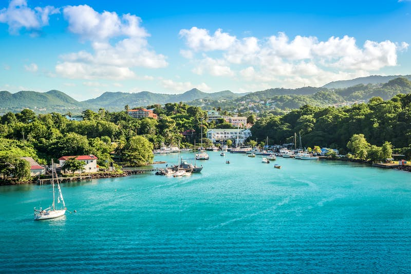 Superyacht charters St Lucia