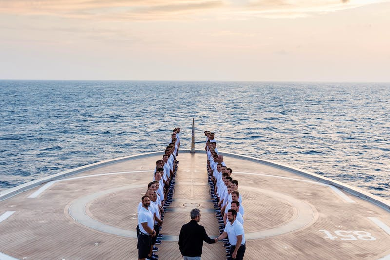 THE PROCESS TO BECOMING SUPERYACHT CREW