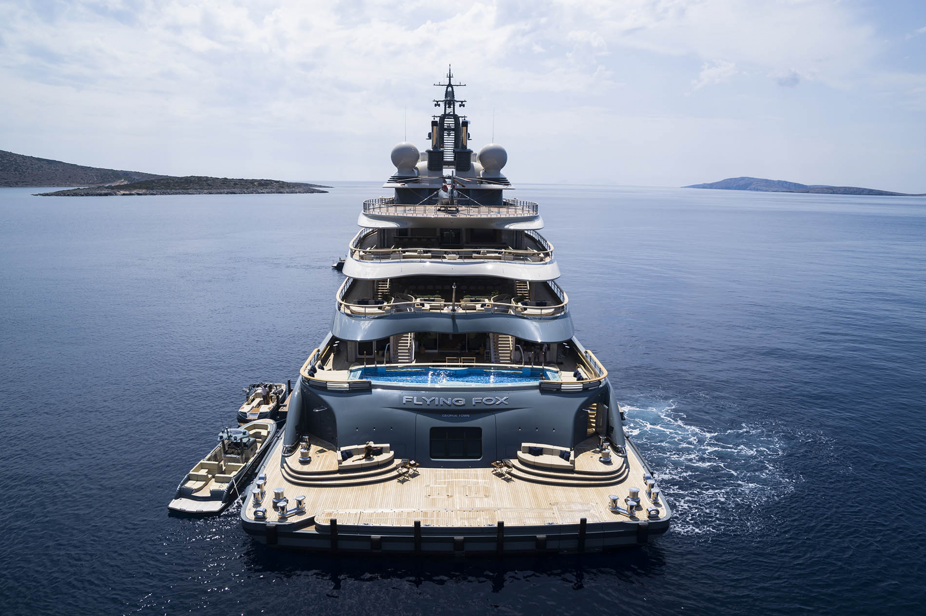 WORLD SUPERYACHT AWARDS 2020: FLYING FOX WINS !